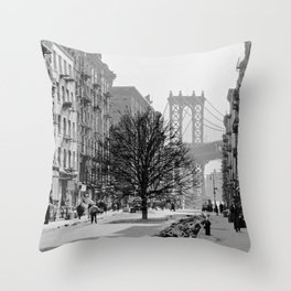 Brooklyn Growth Throw Pillow