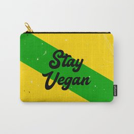 Stay Vegan Carry-All Pouch
