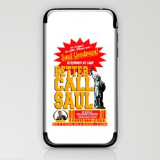 BETTER CALL SAUL  |  BREAKING BAD iPhone & iPod Skin