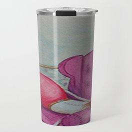 Caperucita por Angélica Muñoz Travel Mug
