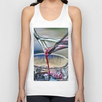 wine Tank Tops featuring red wine by  Agostino Lo Coco