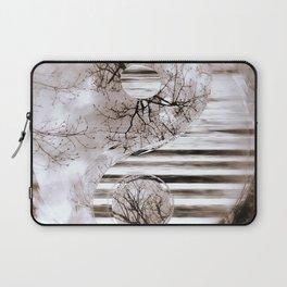 Yin Yang softness and vintage Laptop Sleeve