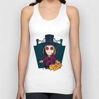 willy wonka Tank Tops featuring Willy Wonka by 7pk2 online