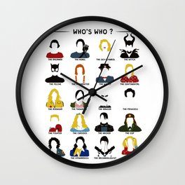 Who's who ? Wall Clock