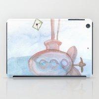submarine iPad Cases featuring Submarine by mirelajoja