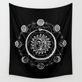 Boho Moon Wall Tapestry