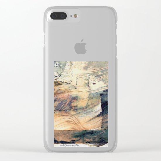 Mystical Horse Clear iPhone Case
