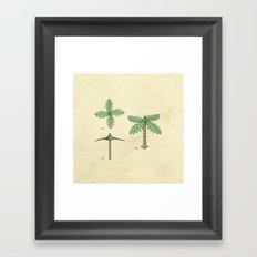 Lego Tree Framed Art Print