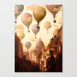 Voyage to the Unkown Canvas Print