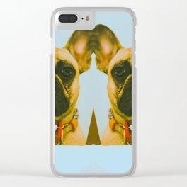 Twin Tunas Clear iPhone Case