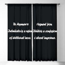Ayn Rand Blackout Curtain