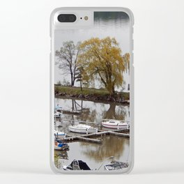Weeping Willow and the Marina Clear iPhone Case