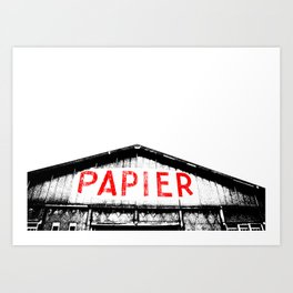 Paper Factory Art Print