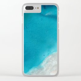 The Depths of Us Clear iPhone Case
