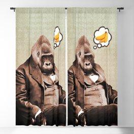 Gorilla My Dreams Blackout Curtain