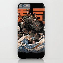 The Black Sushi Dragon iPhone Case