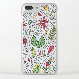 Spring Wishes Clear iPhone Case