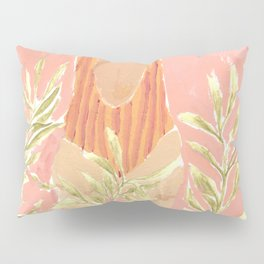 Girl and the leafs Pillow Sham