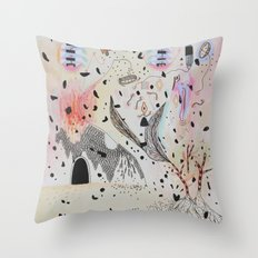 Abstractions Throw Pillow