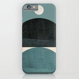 Abstraction_SHAPE_BALANCE_POP_ART_Minimalism_001AB iPhone Case