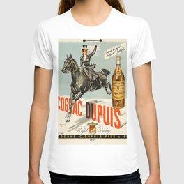 Vintage Cognac Brandy Dupuis Alcoholic Beverage Advertising Poster T-shirt