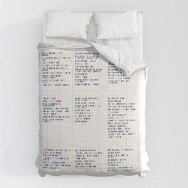 L e d  Z e p p e l i n  Discography - Music in Colour Code Comforters