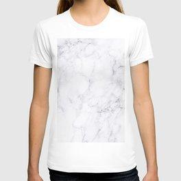 Luxury White Marble T-shirt