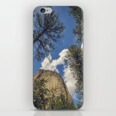 Close Encounters with Devils Tower iPhone & iPod Skin
