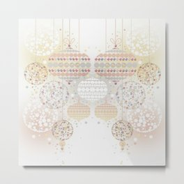 Eid Lanterns Metal Print