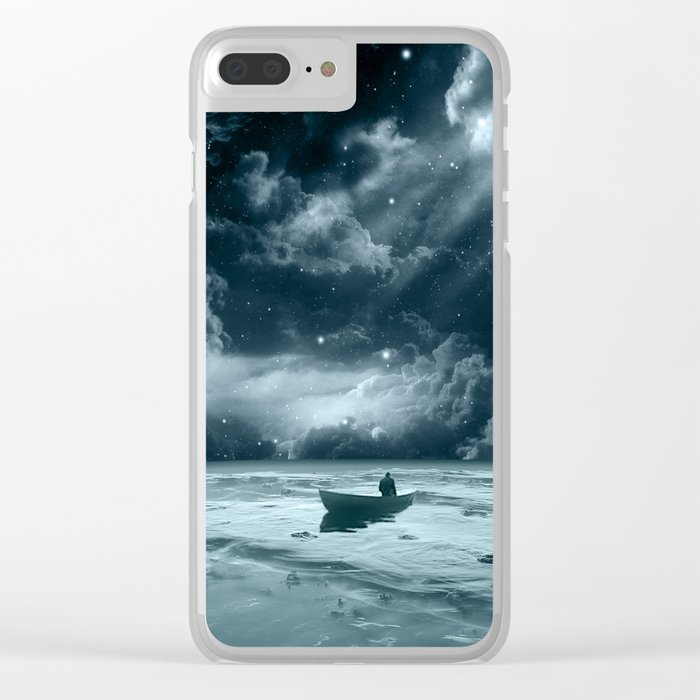 Without a Paddle Clear iPhone Case