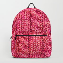 Knitting_015_by_JAMFoto Backpack