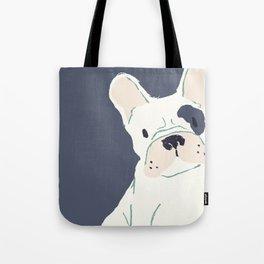 Tote Bag - FRENCH BULL 8 by VIDA VIDA