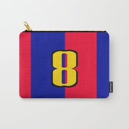 soccer team jersey number eight Carry-All Pouch