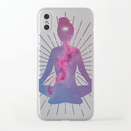 Open Your Third Eye To The Universe Clear iPhone Case