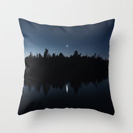 Venusian Lake Throw Pillow