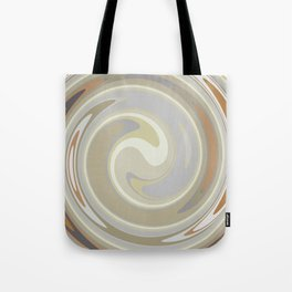 Distorted stripes in colour 3 Tote Bag