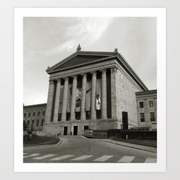 Philadelphia Museum of Art Art Print