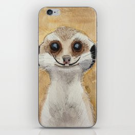 Meerkat 'Stache iPhone Skin