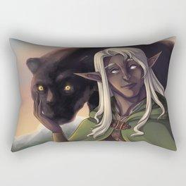 Drizzt Do'Urden Rectangular Pillow