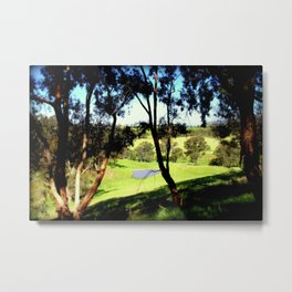 Life in the Alpine Ranges - Australia Metal Print
