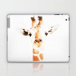 Giraffe watercolor Laptop & iPad Skin