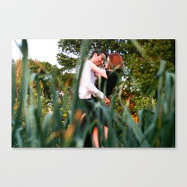 Through the Looking Grass Canvas Print