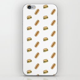 Hamburgers & Hot Dogs iPhone Skin