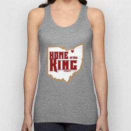 Home of the King (White) Unisex Tank Top
