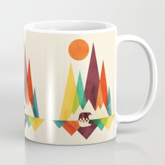 Bear In Whimsical Wild Mug