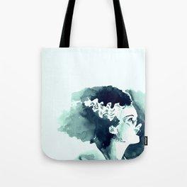 The Bride (profile) Tote Bag