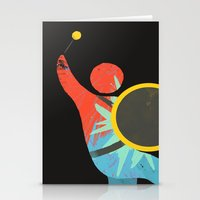 drum Stationery Cards featuring I Drum  by ArtistArt