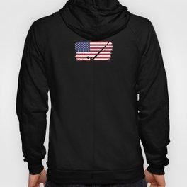 Field Hockey design USA American Flag design Hoody