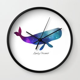 Lonely Dreamer 7 Wall Clock