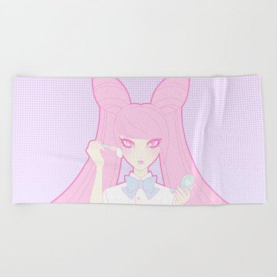 Tokyo Girl: Vanity Beach Towel